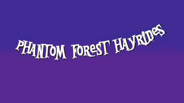 Phantom Forest Hayrides at Westcroft Gardens
